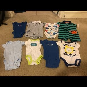 Little Boy Onesies